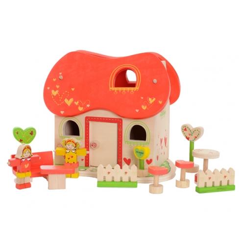 心型娃娃屋