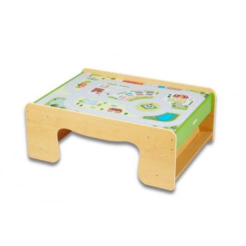 木製小火車桌