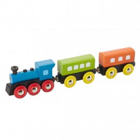 木製復古蒸汽造型火車